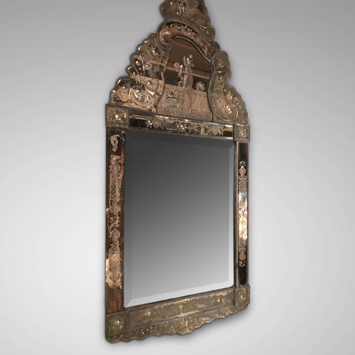A17th century Venetian mirror