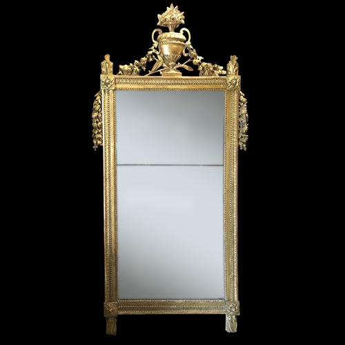 A LOUIS XVI PERIOD MIRROR