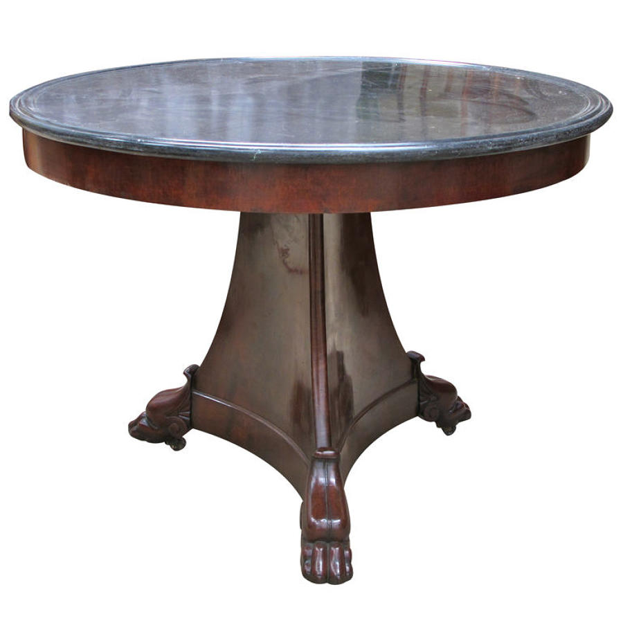A FRENCH RESTORATION PERIOD GUERIDON