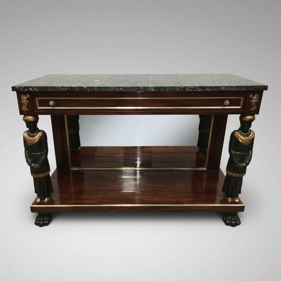 EARLY 19TH CENTURY CONSOLE,NORTHERN EUROPE
