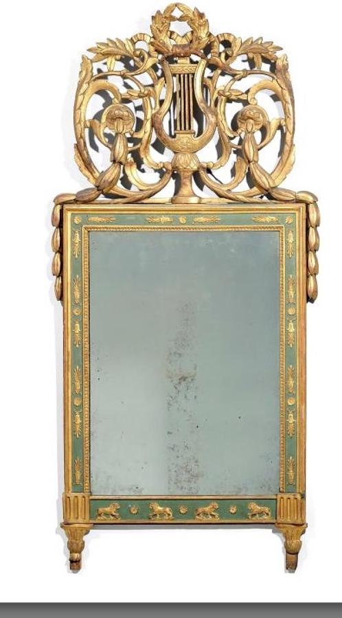 ITALIAN EMPIRE PERIOD MIRROR