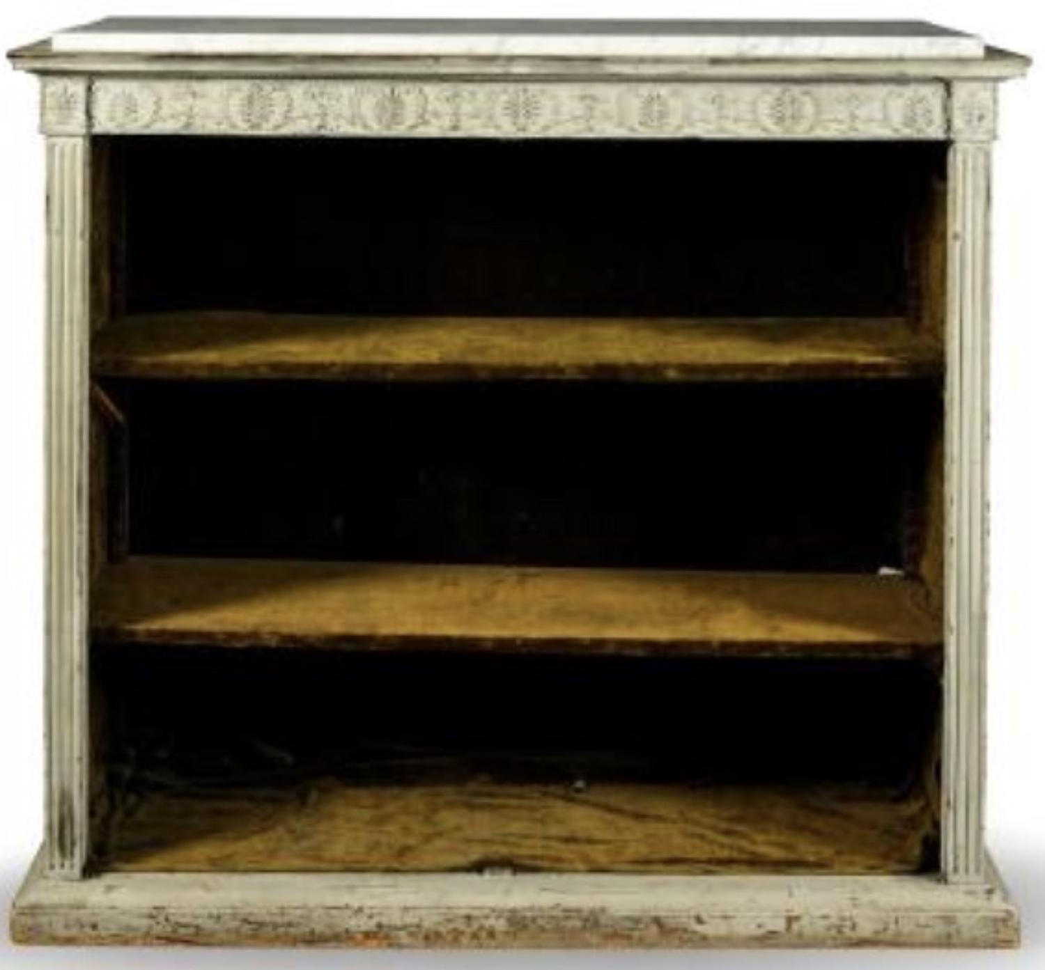 A FRENCH DIRECTOIRE  BOOKCASE CABINET