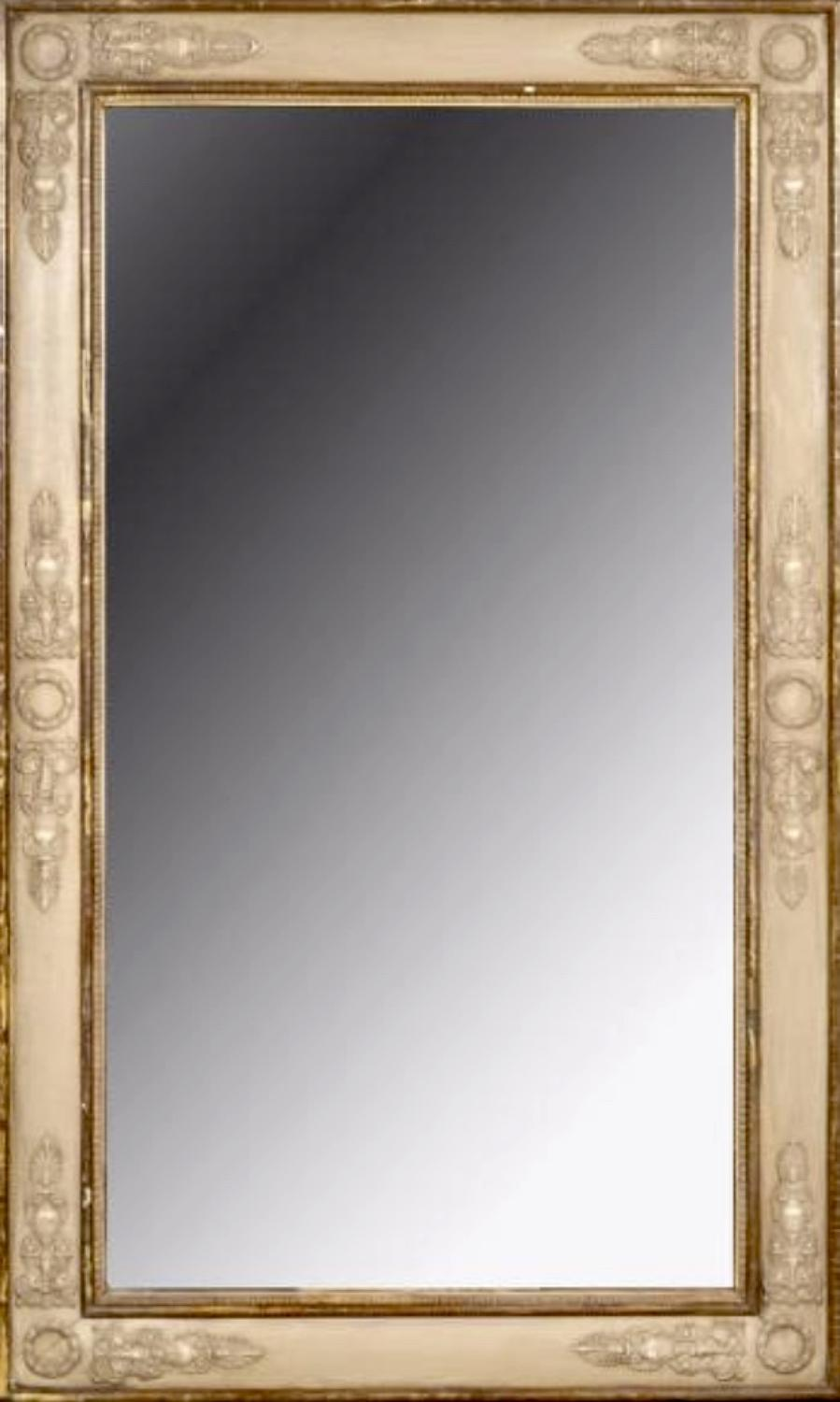 A FRENCH EMPIRE MIRROR