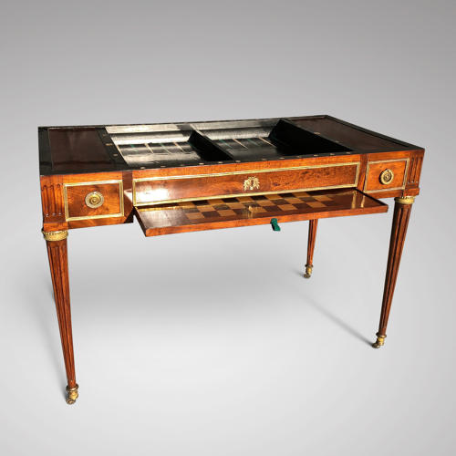 LOUIS XVI PERIOD TRIC/TRAC TABLE