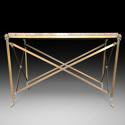 A BRONZE CONSOLE TABLE - picture 1