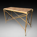 A BRONZE CONSOLE TABLE - picture 2