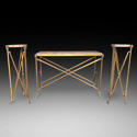 A BRONZE CONSOLE TABLE - picture 3