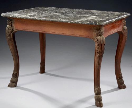 A LOUIS XIV PERIOD TABLE A GIBIER
