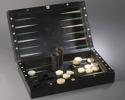 A LOUIS XVI PERIOD EBONY GAMES BOX - picture 1