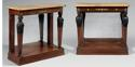 A PAIR OF IST EMPIRE PERIOD CONSOLES - picture 1