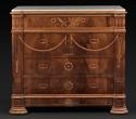 A RARE MARQUETRY COMMODE - picture 1
