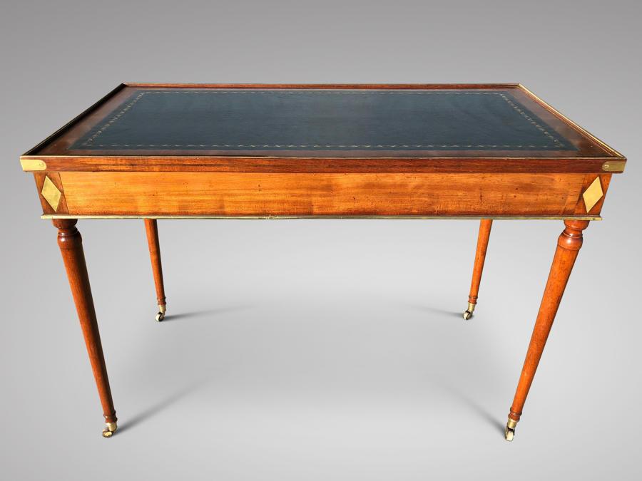 ALATE 18TH CENTURY MAHOGANY TRIC/TRAC TABLE