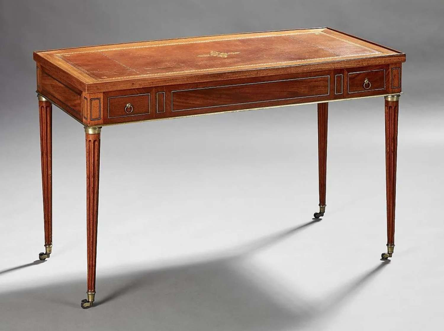 A LOUIS XVI PERIOD TRIC/TRAC TABLE