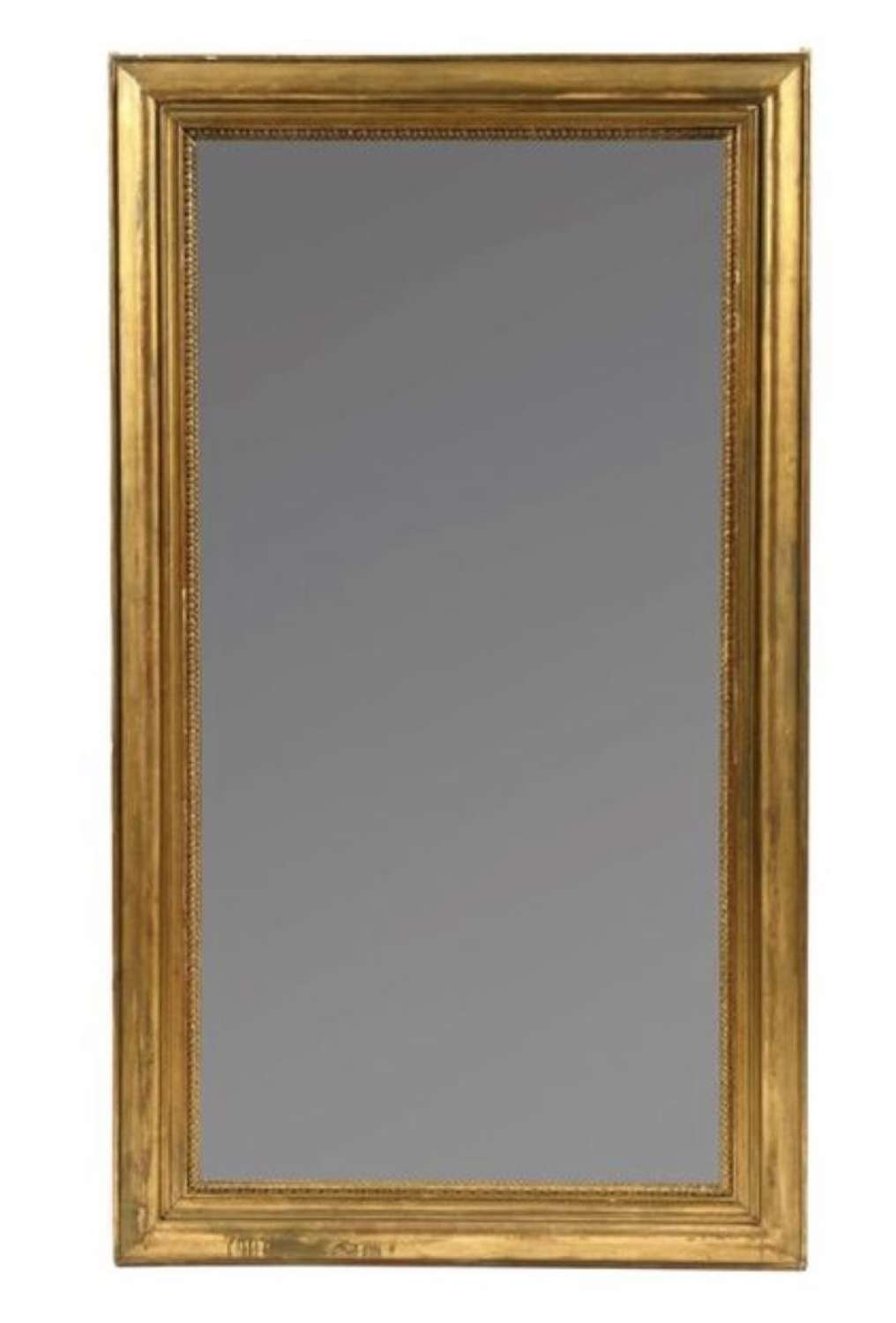 A 19TH CENTURY GILT MIRROR,FRANCE C 1830