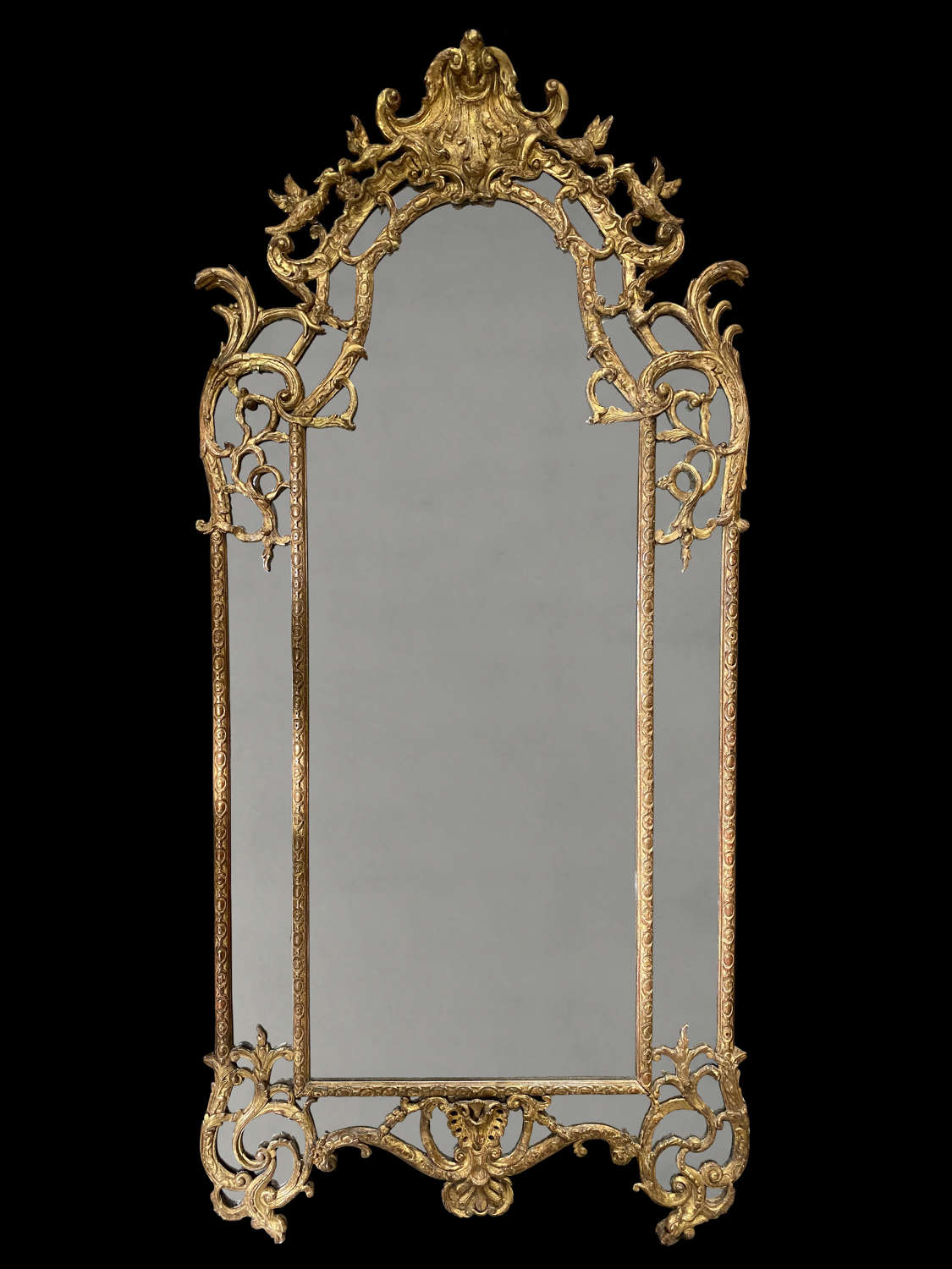 AN IMPORTANT REGENCE PERIOD MIRROR