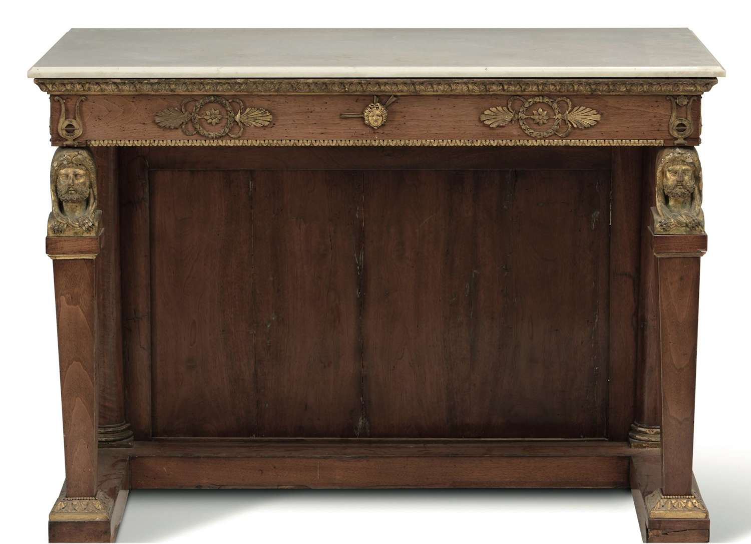 A NEO CLASSICAL CONSOLE TABLE